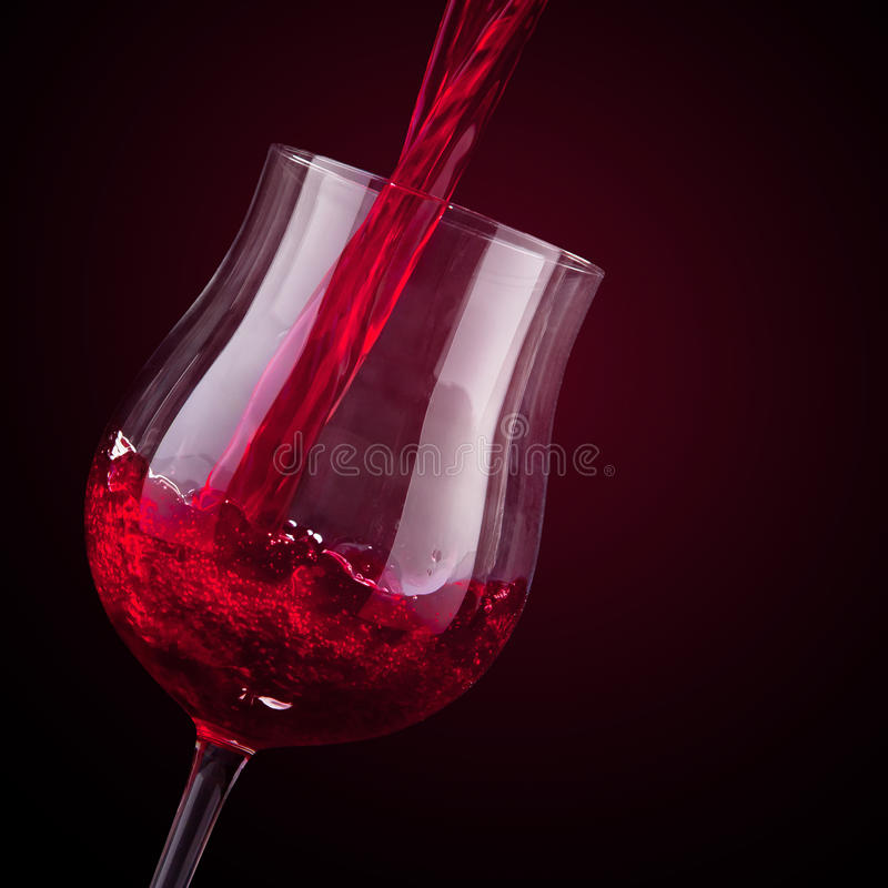 Download Vino rojo imagen de archivo. Imagen de fondo, rose, restaurante - 41909453