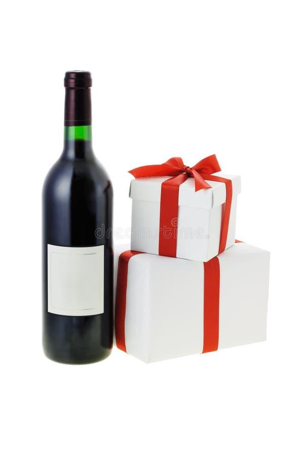 Download Vino Rojo Y Rectángulos De Regalo Imagen de archivo - Imagen de regalo, valentine: 7151849