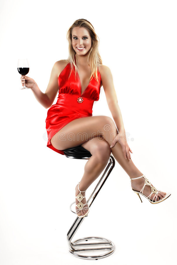 Vino rosso rosso fotografie stock