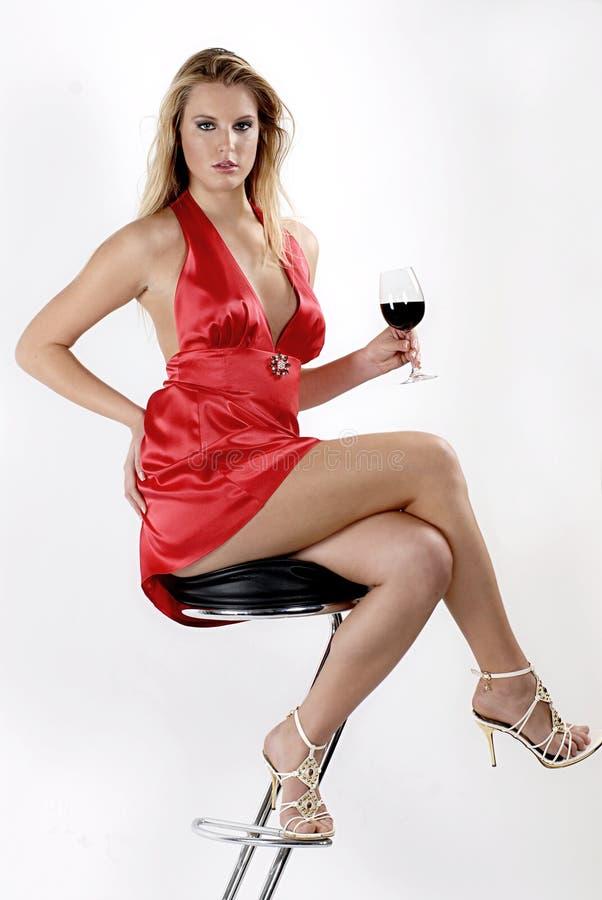 Vino rosso rosso fotografia stock libera da diritti
