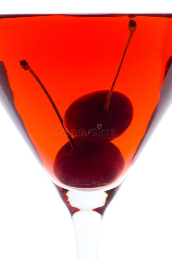 Vino rosso su vetro fotografia stock libera da diritti