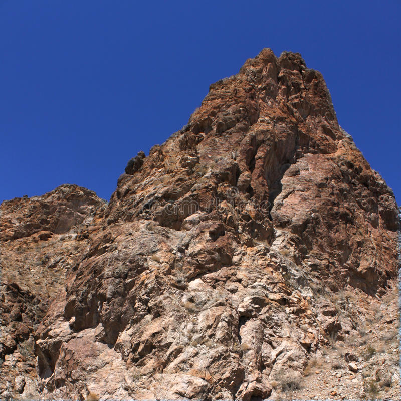Vinrankakanjon - Nevada arkivfoton