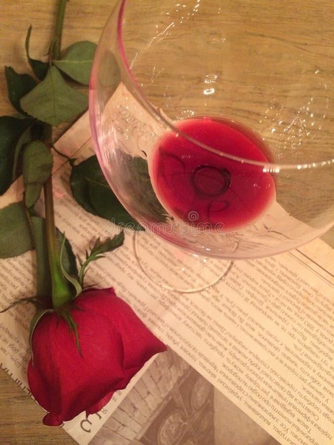 Vinrankan och steg royaltyfri bild