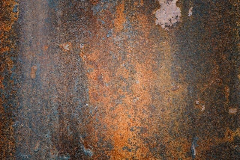 vintag生锈的难看的东西钢织地不很细背景 免版税库存照片