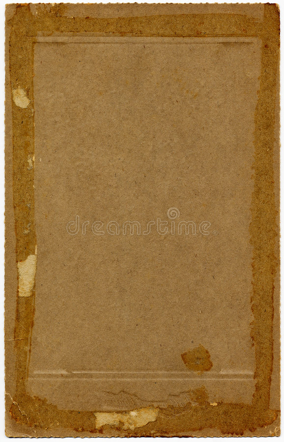Vintage 1920's Paper royalty free stock photo