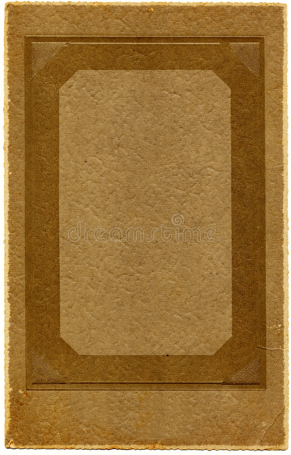 Download Vintage 1920's Photo Frame stock photo. Image of texture - 457034