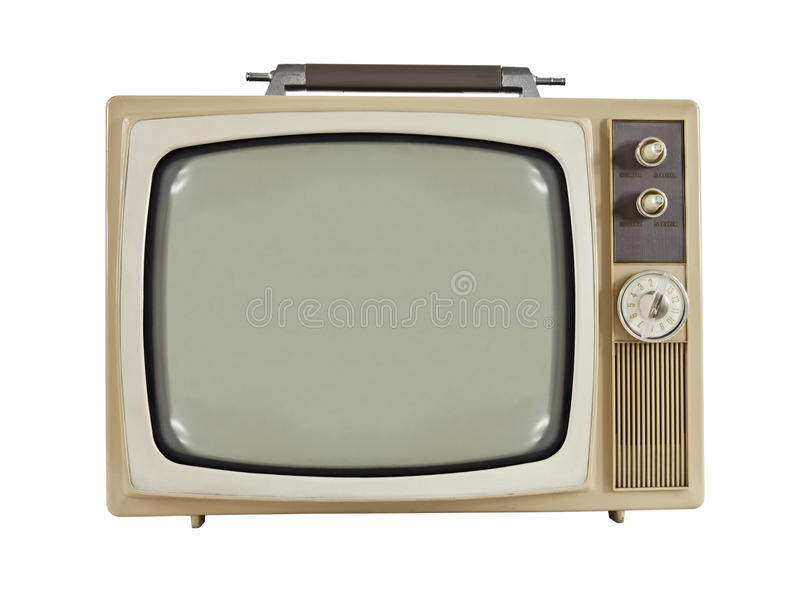 Download Vintage 1960's Portable Television Stock Photo - Image: 20946984
