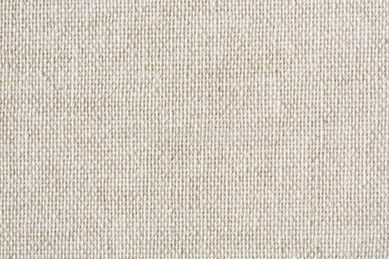 Vintage abstract Hessian or sackcloth fabric or hemp sack texture background. Wallpaper of artistic wale linen canvas. High resolution photo royalty free stock image