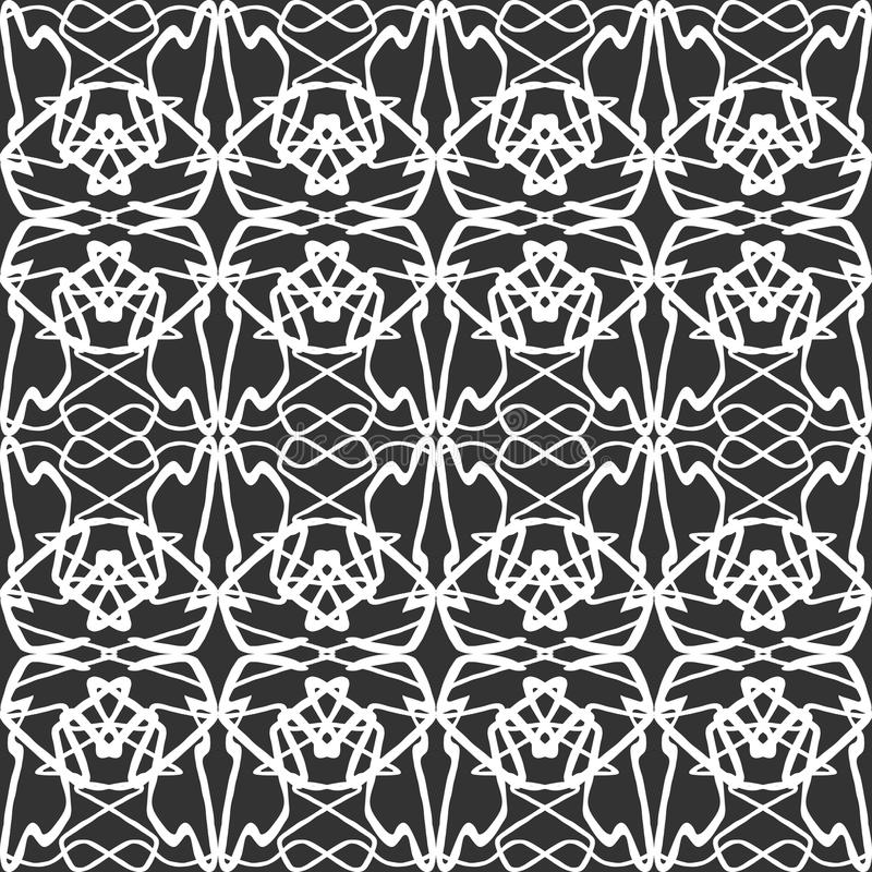 Vintage abstract seamless pattern for your design vector illustration. Vintage abstract seamless pattern quality vector illustration for your design royalty free illustration