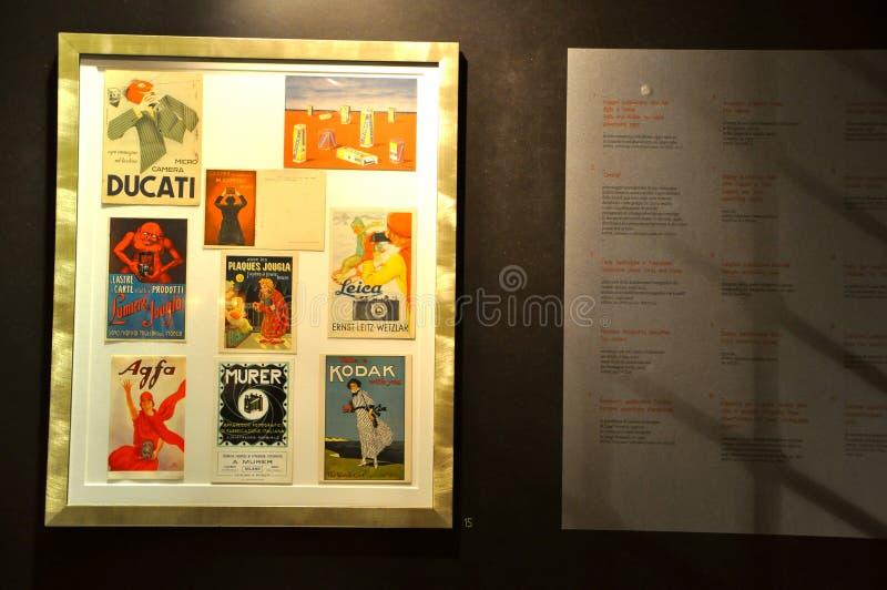 Vintage Advertising Editorial Photo