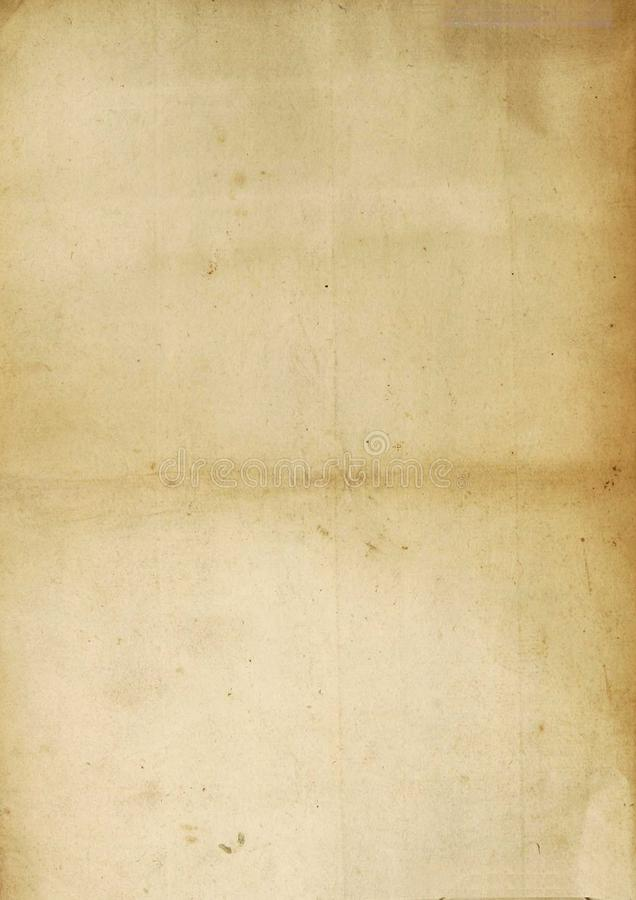 Vintage antique paper sheet texture royalty free stock images