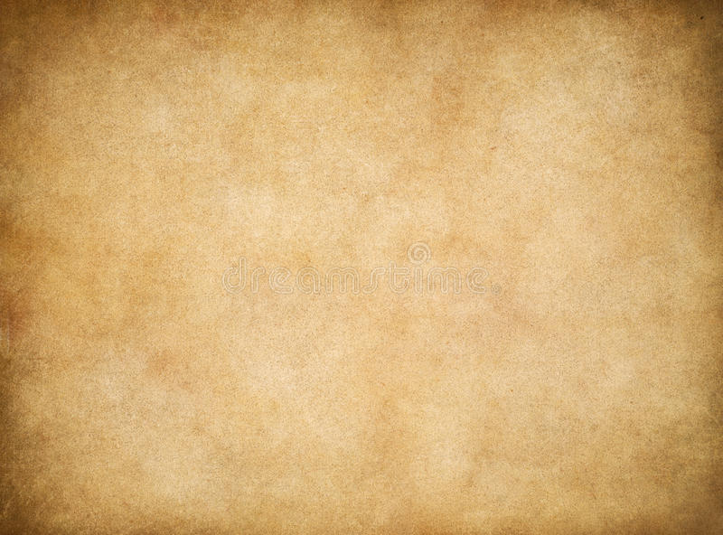 Vintage aged worn paper texture background stock images