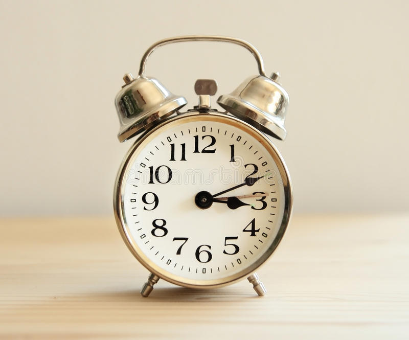 download vintage alarm clock stock photo image