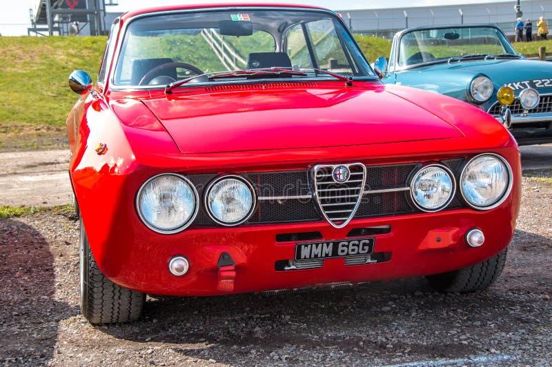 Vintage Alfa Romeo imagens de stock royalty free