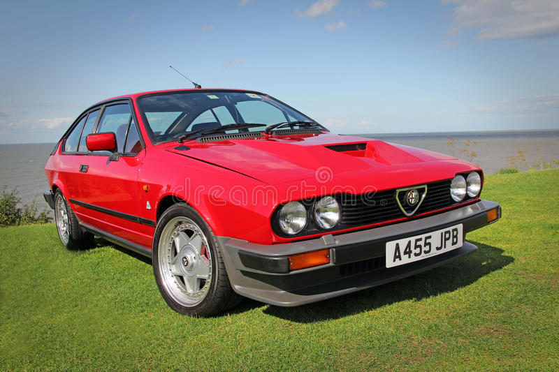 Download Vintage alfa romeo editorial photography. Image of outdoor - 43611032