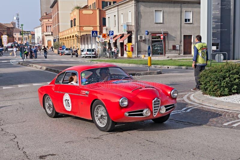 Vintage Alfa Romeo 1900 SSZ Zagato (1957) fotos de stock