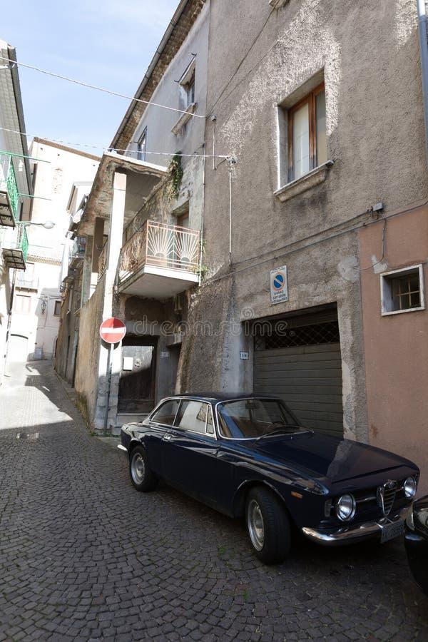 Vintage Alfa Romeo imagem de stock