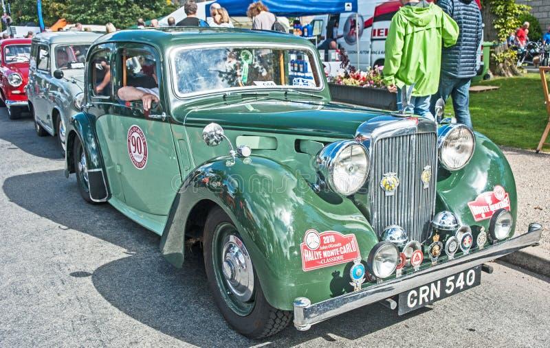 Vintage Alvis de Monte Carlo Rally imagens de stock