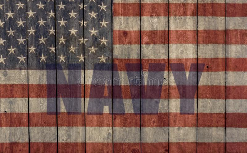 vintage american flag imagem de stock