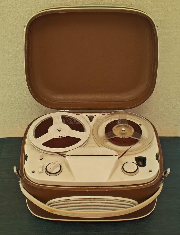 Vintage analog recorder stock images