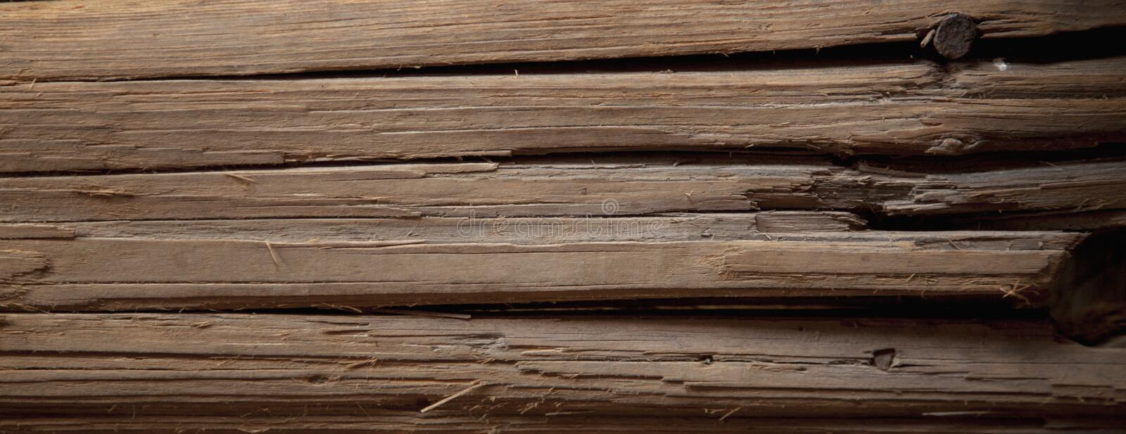 Vintage ancient wood background. Rich wood texture of plank stock images