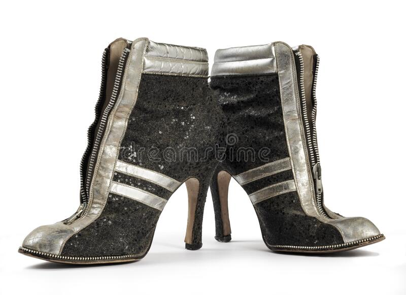 Vintage Ankle Boots stock image