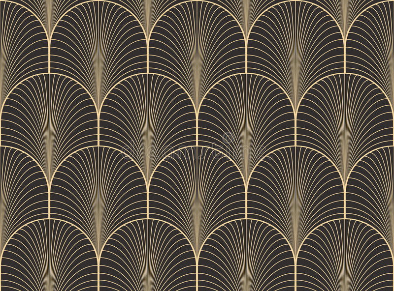 Art deco wallpaper seamless images for Interieur art deco
