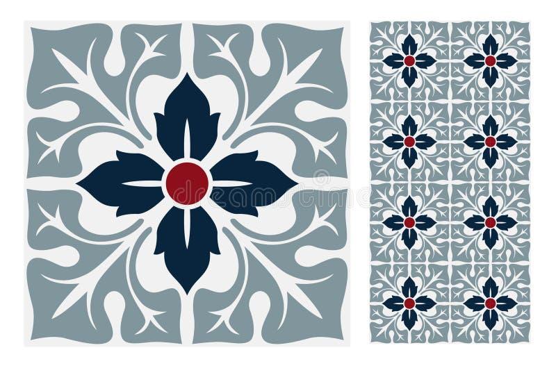 Vintage antique seamless design patterns tiles in Vector illustration. Vintage antique seamless design patterns tiles wall craft design patterns, vector vector illustration