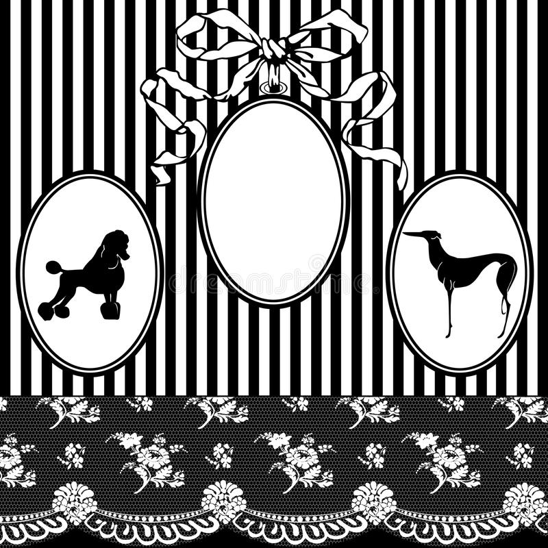 Download Vintage Art Nouveau Frame stock vector. Illustration of beauty - 24023393