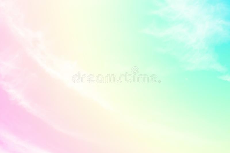 Soft Bokeh Pink White Pastel Plain Background Stock Photos