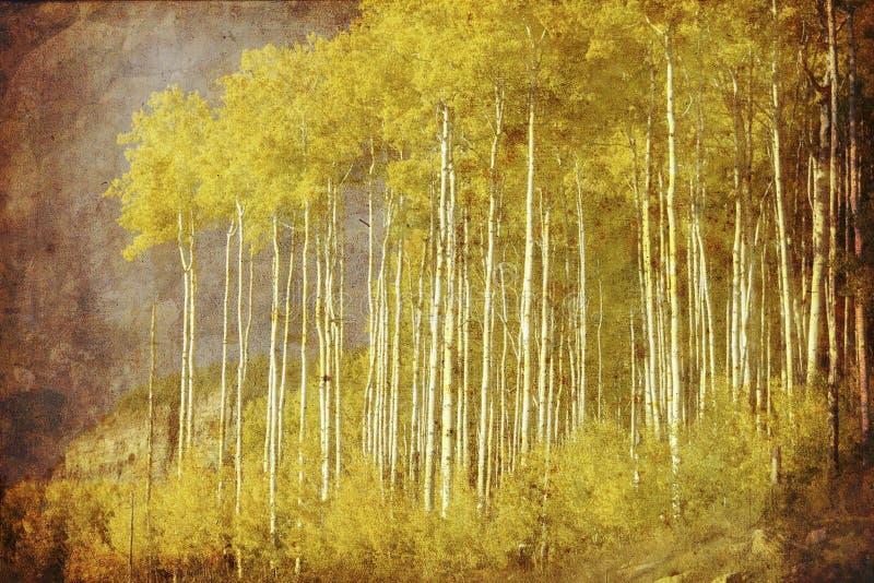 Vintage autumn vector illustration