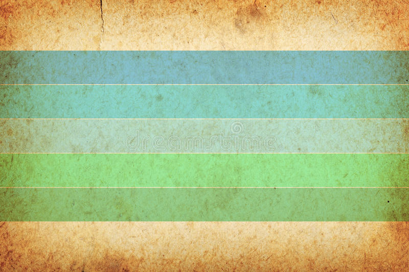 Vintage Background. Vintage paper texture with stripes for background, room for text royalty free stock photos