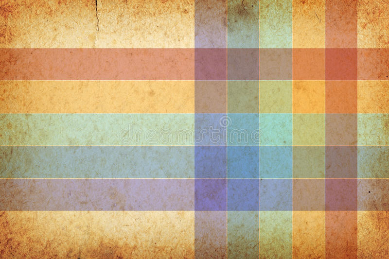 Vintage Background. Vintage old paper texture for background with room for text stock illustration