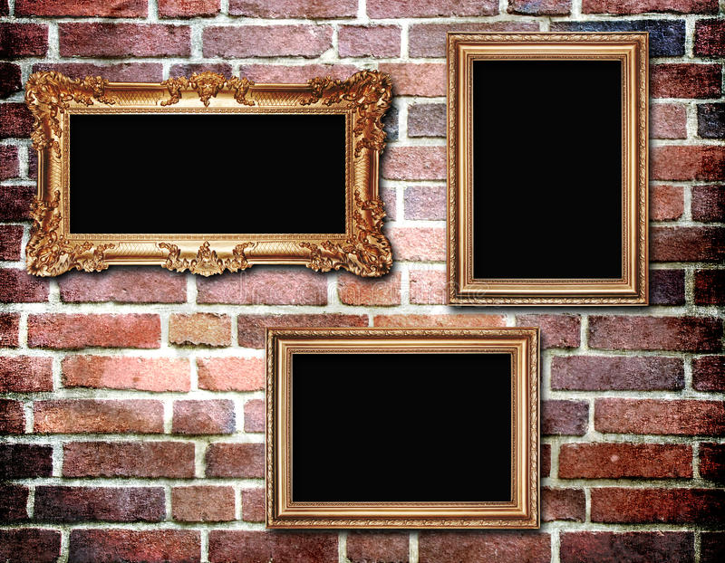 Download Vintage Background With Frames Stock Illustration - Image: 16379262