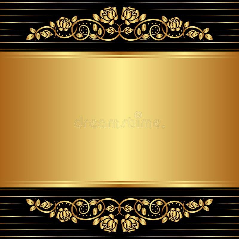 Vintage Background Stock Vector. Illustration Of Blank