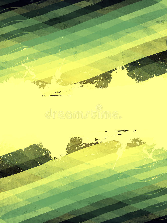 Download Retro Background With Green Rhombus And Text Space Stock Illustration - Image: 30082009