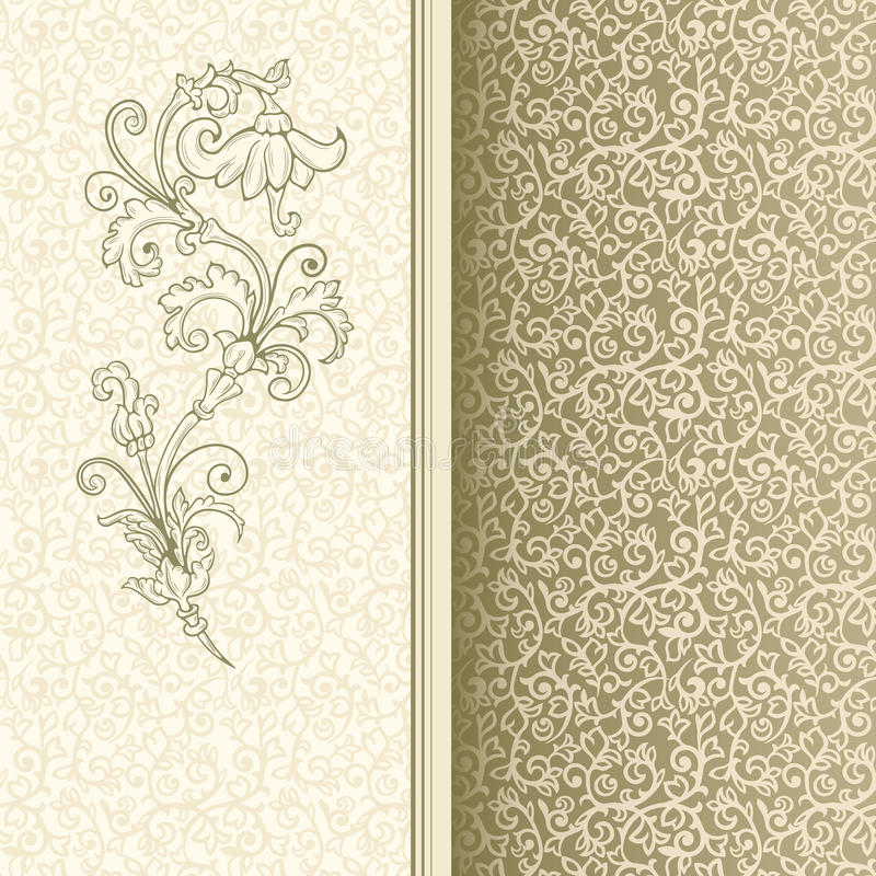 Download Vintage Background stock vector. Illustration of invitation - 33045901