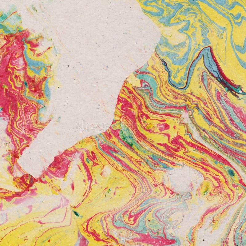 Download Vintage Background With Marbled Paper Stock Illustration - Illustration of original, colors: 39501395