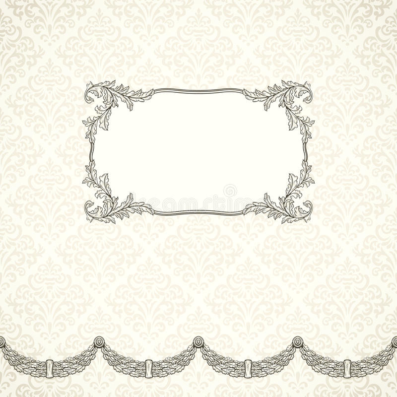 Download Vintage background stock vector. Image of decoration - 32353367