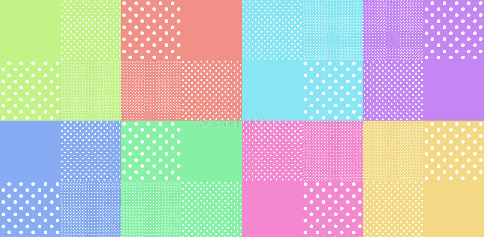 Download Vintage Background From Polka Dot Stock Illustration - Illustration of scrapbook, stationary: 26629195