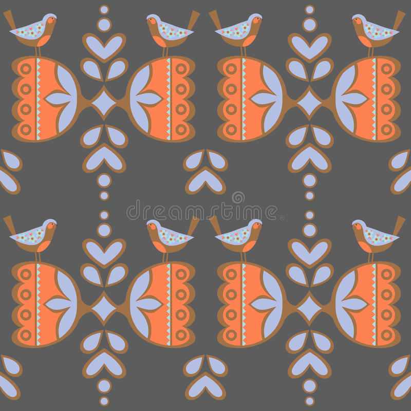 Vintage backgrounds, ethnic ornament, seamless pattern. vector illustration