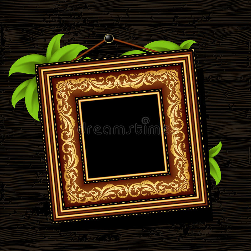 Download Vintage baguette frame stock vector. Image of abstract - 21243833