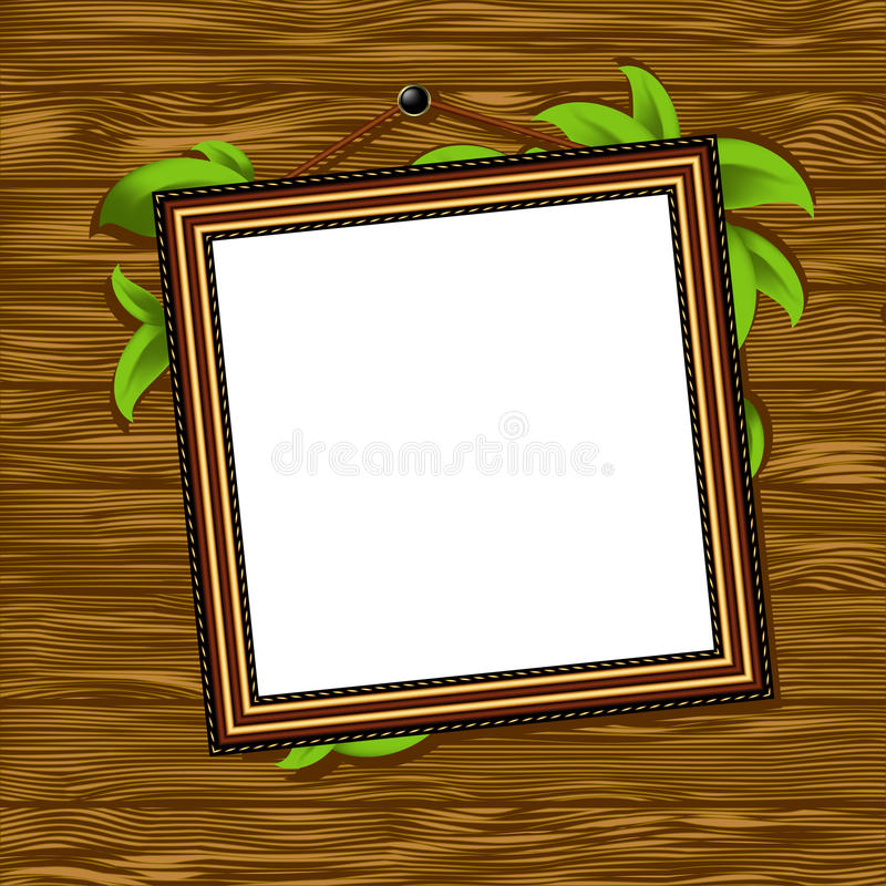 Download Vintage baguette frame stock vector. Image of decor, decoration - 21243870