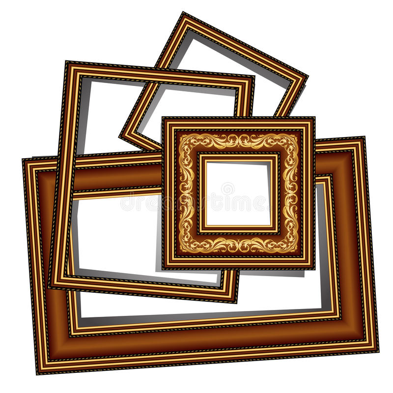 Download Vintage baguette frames stock vector. Illustration of picture - 21048702