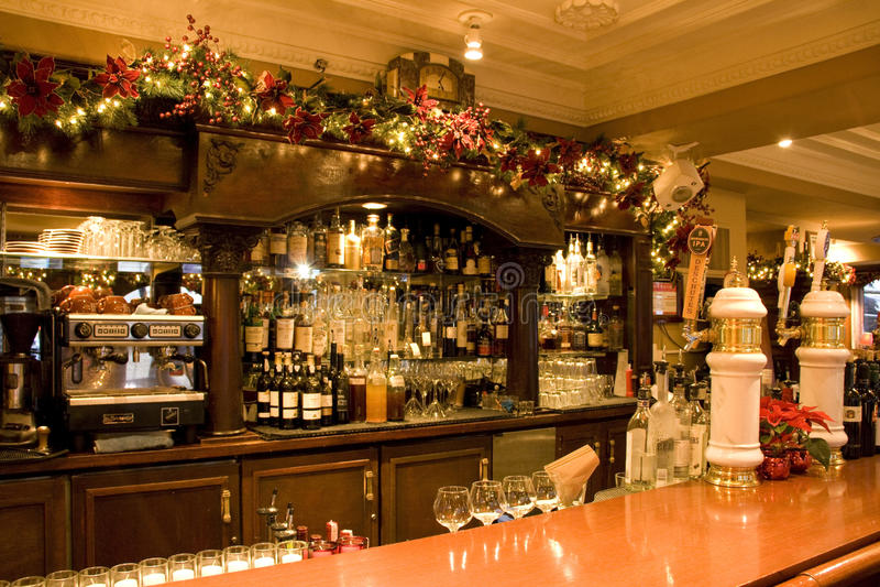 Download Vintage bar restaurant editorial stock image. Image of indoors - 28290139