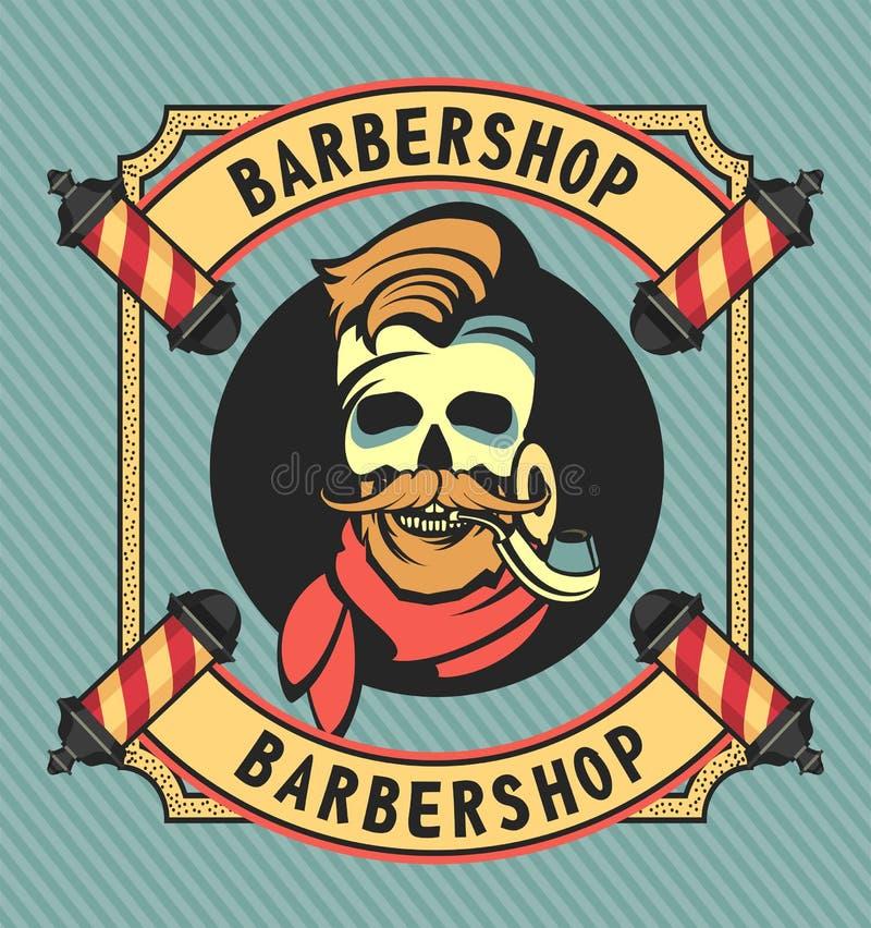 Vintage Barber Shop illustration libre de droits