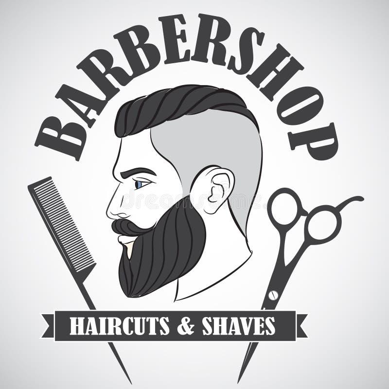 Preferred Vintage Barber Shop Emblem, Label, Badge, Logo Stock Vector  DV34