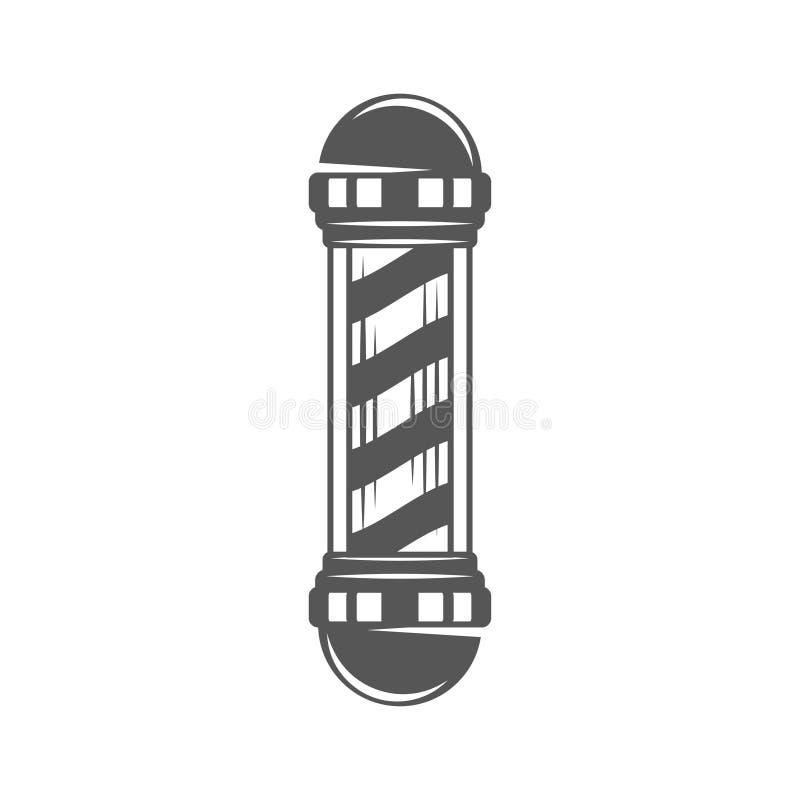 Download Vintage Barber Shop Pole Stock Vector Illustration Of Helical