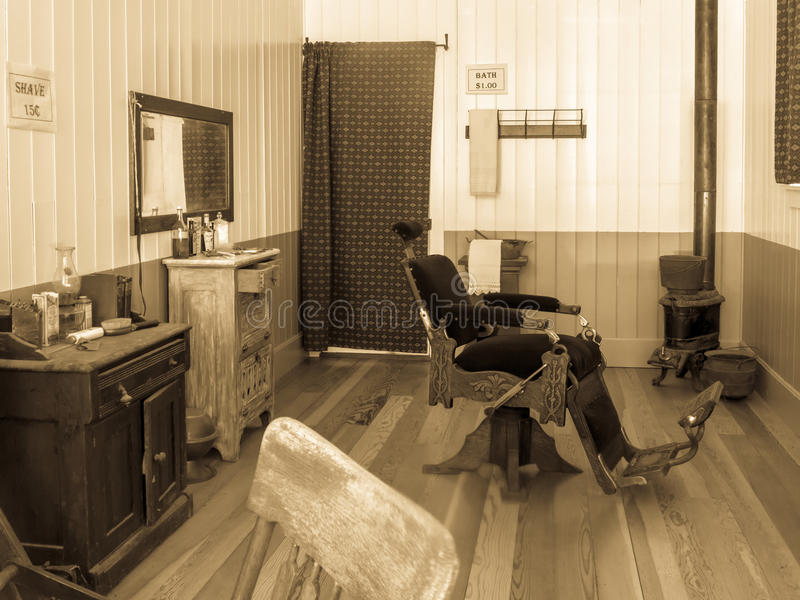 Download Vintage barber shop stock photo. Image of ghost, closed - 33803346
