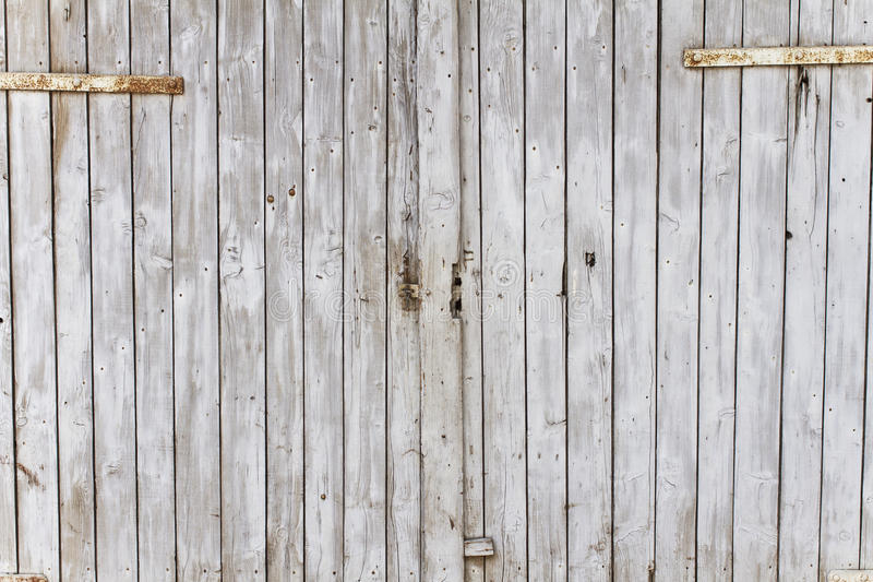 Vintage Barn Door Stock Image Image Of Background Nailed